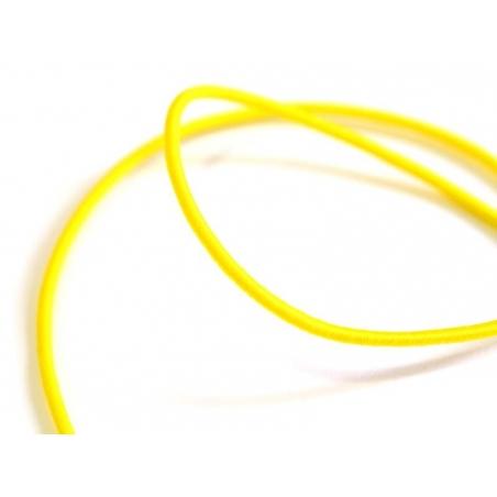 Acheter 1 m de cordon élastique 1 mm - Jaune - 0,69€ en ligne sur La Petite Epicerie - Loisirs créatifs