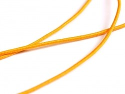 1 m of elastic cord, 1 mm - orange