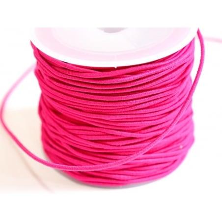 Acheter 1 m de cordon élastique 1 mm - Rose fushia - 0,69€ en ligne sur La Petite Epicerie - Loisirs créatifs