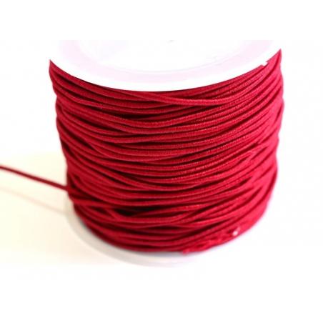 Acheter 1 m de cordon élastique 1 mm - Rouge bordeaux - 0,69€ en ligne sur La Petite Epicerie - Loisirs créatifs