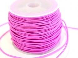 1 m de cordon élastique 1 mm - Rose