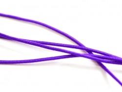 1 m de cordon élastique 1 mm - Violet
