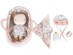 Acheter Set couffin et poupon bébé Rosa - 29,89€ en ligne sur La Petite Epicerie - Loisirs créatifs