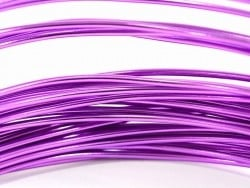 10 m of aluminium wire - purple