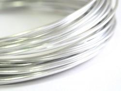 10 m Aluminiumdraht - silberfarben