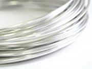 10 m de fil aluminium - argenté