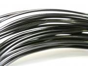 10 m de fil aluminium - noir
