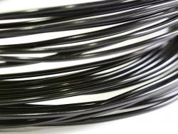 10 m Aluminiumdraht - schwarz