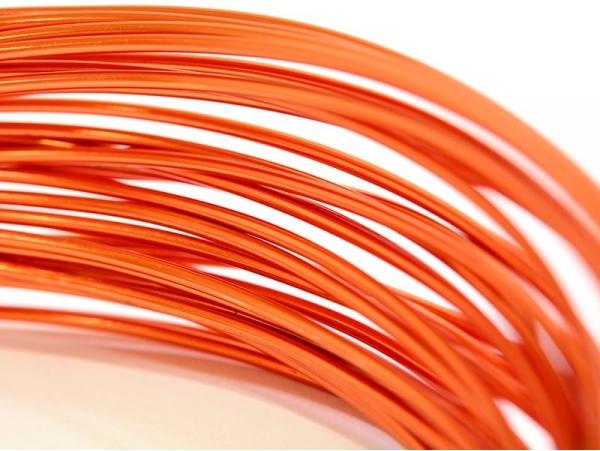Acheter 10 m de fil aluminium - orange vif - 2,09€ en ligne sur La Petite Epicerie - Loisirs créatifs
