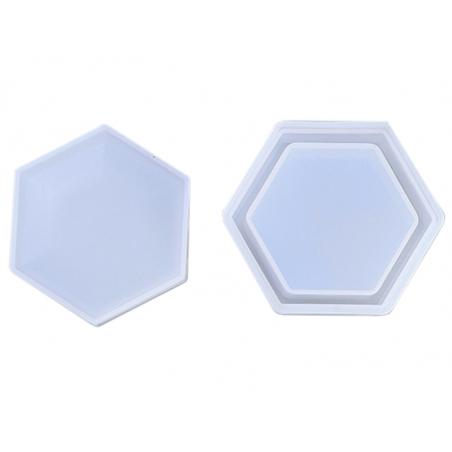 Acheter Moule en silicone - Boite de rangement hexagonale - 7,69€ en ligne sur La Petite Epicerie - Loisirs créatifs
