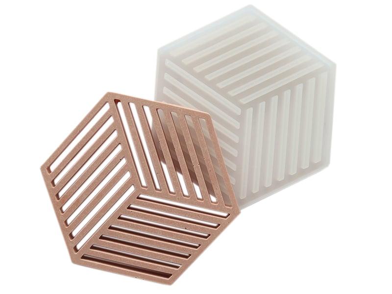 Acheter Moule en silicone - Grand hexagone - 8,09€ en ligne sur La Petite Epicerie - Loisirs créatifs