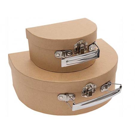 Acheter Petite valise en carton à décorer - Nature - 4,99€ en ligne sur La Petite Epicerie - Loisirs créatifs