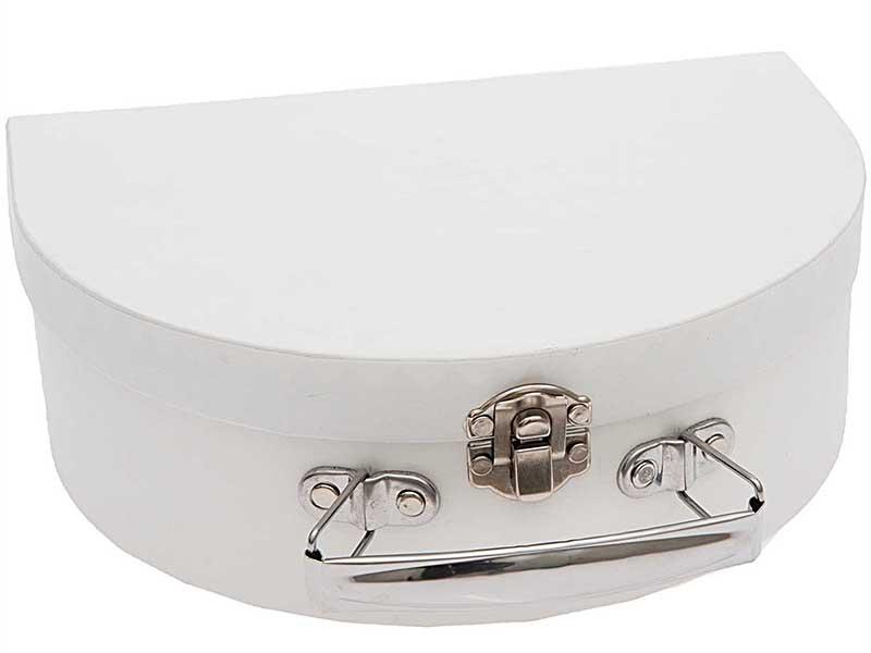 Acheter Valise en carton à décorer - Blanc - 6,99€ en ligne sur La Petite Epicerie - Loisirs créatifs