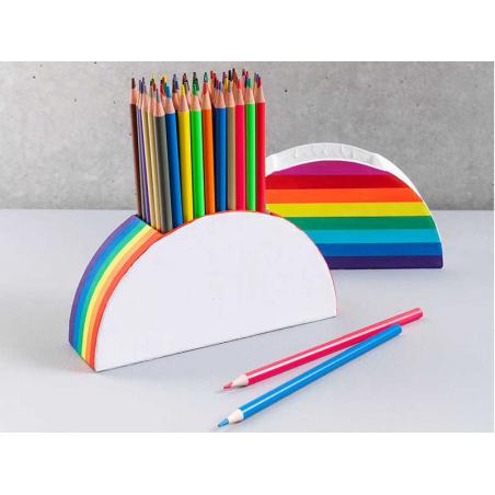 Acheter Pot à crayons en carton à décorer - Blanc - 3,99€ en ligne sur La Petite Epicerie - Loisirs créatifs