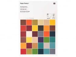 Acheter Bloc de papier bricolage - Super Earthy Colours - 9,99€ en ligne sur La Petite Epicerie - Loisirs créatifs