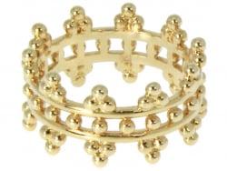 Acheter Bague plaqué or 3 microns 18K The Crown - / couronne - taille 52 - 29,99€ en ligne sur La Petite Epicerie - Loisirs ...