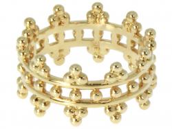 Acheter Bague plaqué or 3 microns 18K The Crown / couronne- size 54 - 29,99€ en ligne sur La Petite Epicerie - Loisirs créatifs