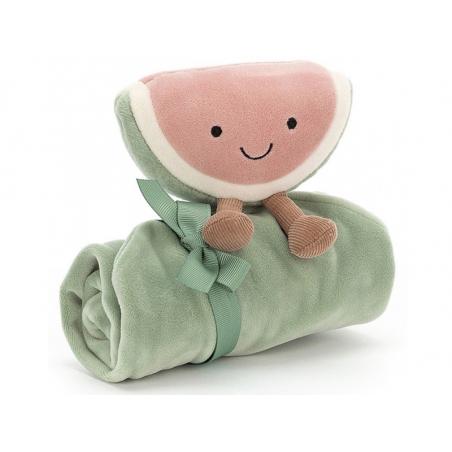 Acheter Peluche / doudou pastèque lange - 20,99€ en ligne sur La Petite Epicerie - Loisirs créatifs