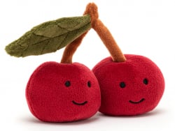 """Acheter Peluche """"Fabulous Fruit"""" Cerise - 13,49€ en ligne sur La Petite Epicerie - Loisirs créatifs"""