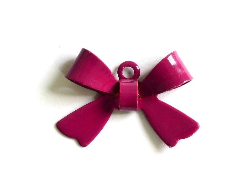 Acheter 1 Breloque noeud prune - 1,09€ en ligne sur La Petite Epicerie - Loisirs créatifs