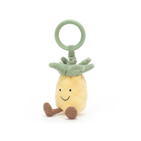 Acheter Peluche / doudou de poussette - ananas - 19,99€ en ligne sur La Petite Epicerie - Loisirs créatifs