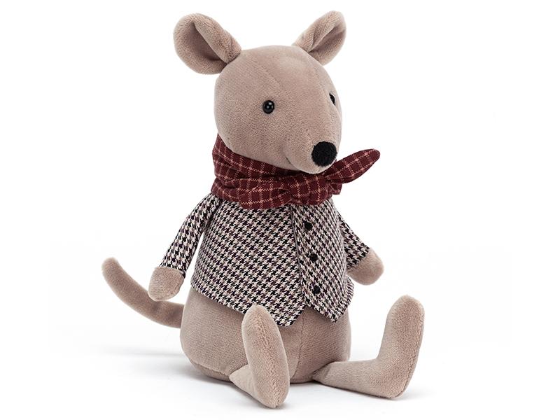 Acheter Peluche / doudou - le rat des villes - 24,99€ en ligne sur La Petite Epicerie - Loisirs créatifs
