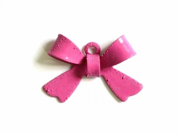 Acheter 1 Breloque noeud rose framboise - 1,09€ en ligne sur La Petite Epicerie - Loisirs créatifs