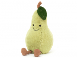 Acheter Peluche / doudou - petite poire - 18,99€ en ligne sur La Petite Epicerie - Loisirs créatifs