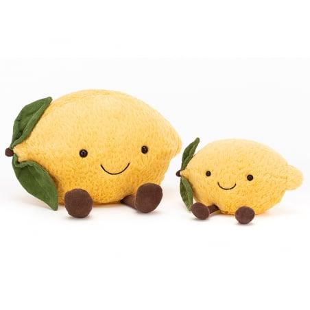 Acheter Peluche / doudou - petit citron - 14,09€ en ligne sur La Petite Epicerie - Loisirs créatifs
