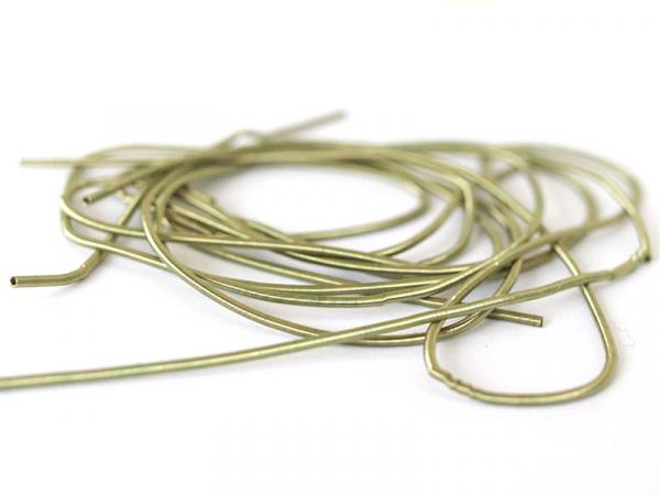 Acheter Cannetille lisse 40 cm – Vert olive clair - 0,49€ en ligne sur La Petite Epicerie - Loisirs créatifs