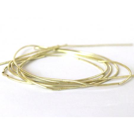 Acheter Cannetille lisse 35 cm – Beige doré - 0,49€ en ligne sur La Petite Epicerie - Loisirs créatifs