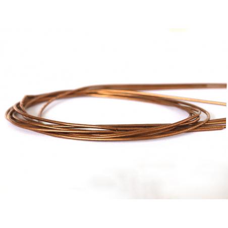 Acheter Cannetille lisse 35 cm – Caramel - 0,49€ en ligne sur La Petite Epicerie - Loisirs créatifs