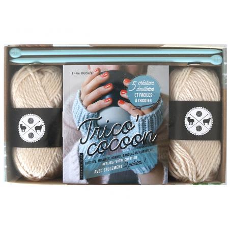 Acheter Coffret Trico' cocoon - 15,95€ en ligne sur La Petite Epicerie - Loisirs créatifs