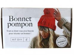 Acheter Coffret Kit DIY – Bonnet pompon - 25,00€ en ligne sur La Petite Epicerie - Loisirs créatifs
