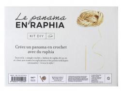 Acheter Coffret – Je crochète mon panama en raphia - 19,90€ en ligne sur La Petite Epicerie - Loisirs créatifs