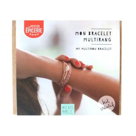 Acheter Kit MKMI - Mon bracelet multirang - 16,99€ en ligne sur La Petite Epicerie - Loisirs créatifs