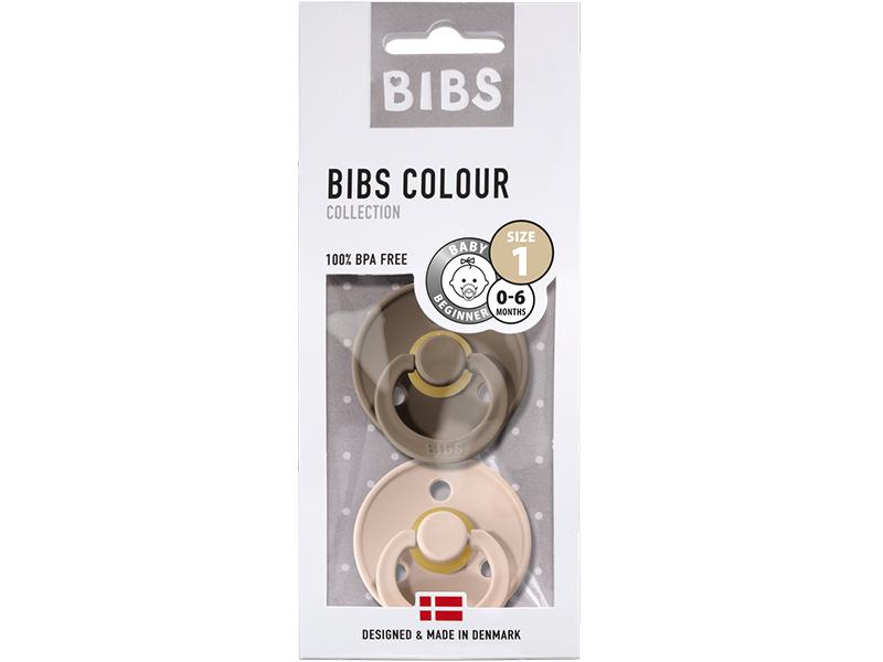 Acheter Lot de 2 tétines Bibs T1- Rose poudré & Chêne - 9,99€ en ligne sur La Petite Epicerie - Loisirs créatifs