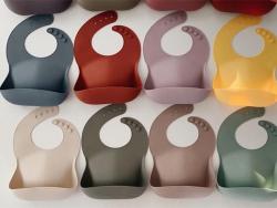 Acheter Bavoir Mushie - Terre de Sienne - 13,99€ en ligne sur La Petite Epicerie - Loisirs créatifs
