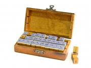 Tampons alphabet - 70 caractères
