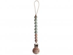 Acheter Attache-tétine Mushie - Vert amande - 13,99€ en ligne sur La Petite Epicerie - Loisirs créatifs
