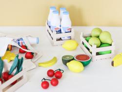 Acheter Lot de 3 tranches de fromage en bois - 4,99€ en ligne sur La Petite Epicerie - Loisirs créatifs