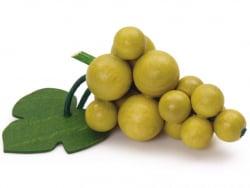 Acheter Grappe de raisins verts - jouet en bois pour dinette - 8,99€ en ligne sur La Petite Epicerie - Loisirs créatifs