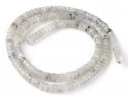 Acheter 100 perles heishi naturelles 4 mm - labradorite - 5,49€ en ligne sur La Petite Epicerie - Loisirs créatifs
