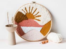 Acheter Kit DIY punch needle - Paysage - 39,99€ en ligne sur La Petite Epicerie - Loisirs créatifs