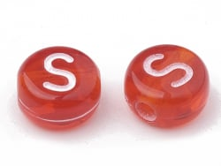 Acheter 200 perles rondes en plastique transparent - lettres alphabet - multicolore - 2,49€ en ligne sur La Petite Epicerie ...