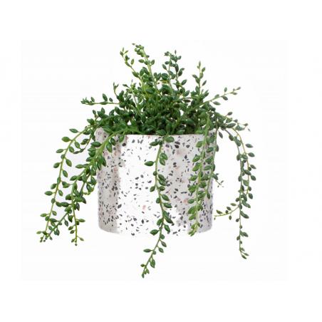 Acheter Grand pot terrazzo - 12,5 cm - 18,99€ en ligne sur La Petite Epicerie - Loisirs créatifs