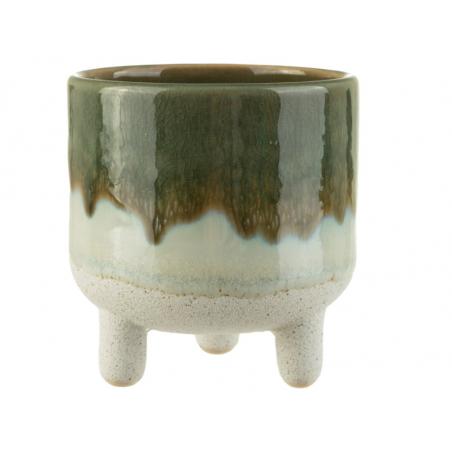 Acheter Pot pour plante à pieds - vert 8,5 cm - 11,95€ en ligne sur La Petite Epicerie - Loisirs créatifs