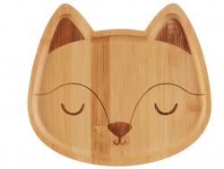 Acheter Assiette en bambou - renard - 10,99€ en ligne sur La Petite Epicerie - Loisirs créatifs