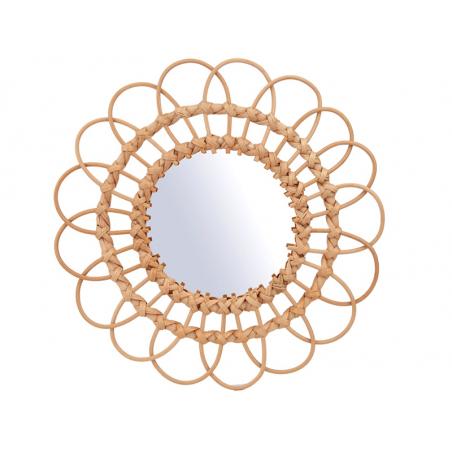 Acheter Miroir en rotin - 50 cm - 24,99€ en ligne sur La Petite Epicerie - Loisirs créatifs