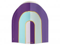 Acheter Petit vase en papier Octaevo - Riviera arc-en-ciel - 13,99€ en ligne sur La Petite Epicerie - Loisirs créatifs